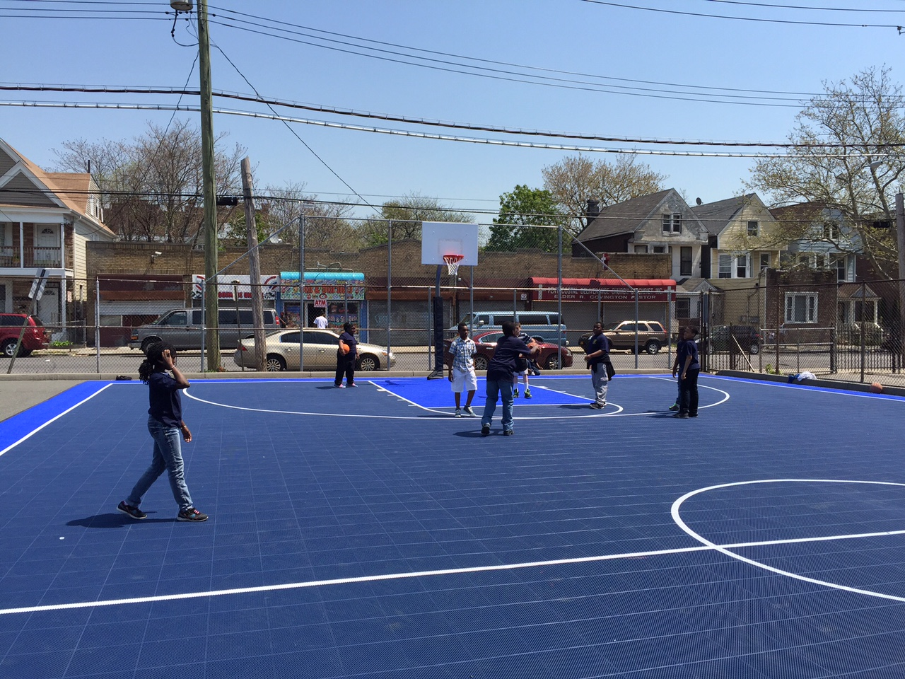 Nyc Basketball Court On Good Morning America Carter 39 S